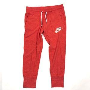 Nike Pants Gym Vintage Capri Jogger Sweatpants